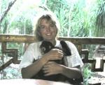 Marike met Heidi\'s Paco