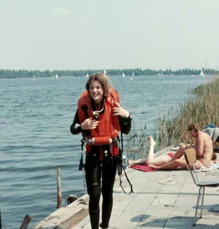 14 years old, just certified as 1* CMAS diver