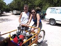 Trish Beddows, Hydrologist University of Bristol and Marike....