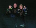 sept 03 MJ en Dennis de Groot ready to dive Sac Actun